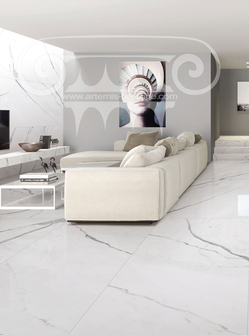 Salle De Bain Marbre De Carrare carrelages imitation marbre - carrelages, margelles, - artemis